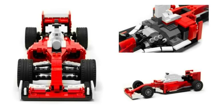 Progettata la Ferrari SF16-H in versione Lego