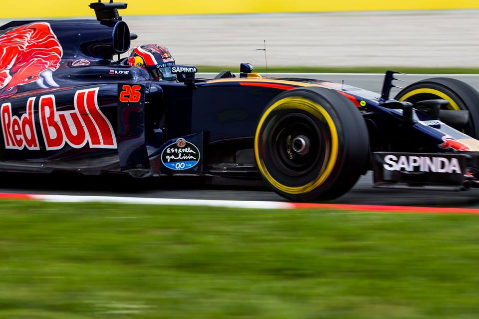 "Toro Rosso, Kvyat: ""Test molto produttivo"""