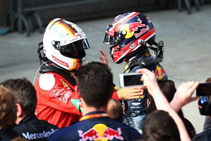 """Ferrari, Vettel: """"La retrocessione di Kvyat? La Red Bull non si è comporta bene con Daniil"""""""