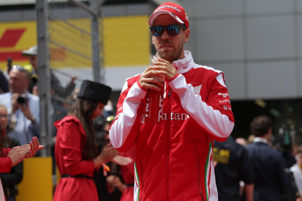 """Ferrari, Vettel rabbia e amarezza: """"Non si può uscire di gara così"""""""