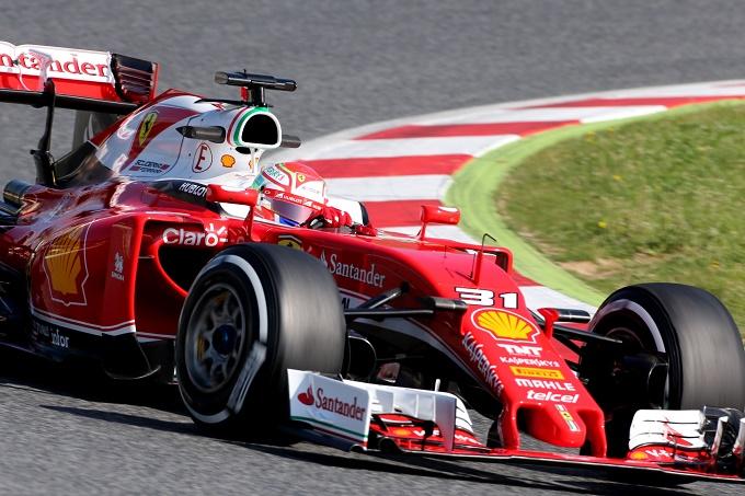 Test Montmelò, Antonio Fuoco debutta al volante della SF16-H