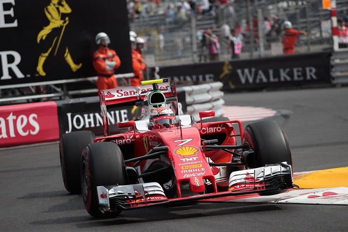 """Raikkonen 7° nelle FP2 del GP di Monaco: """"Nessun dramma"""""""