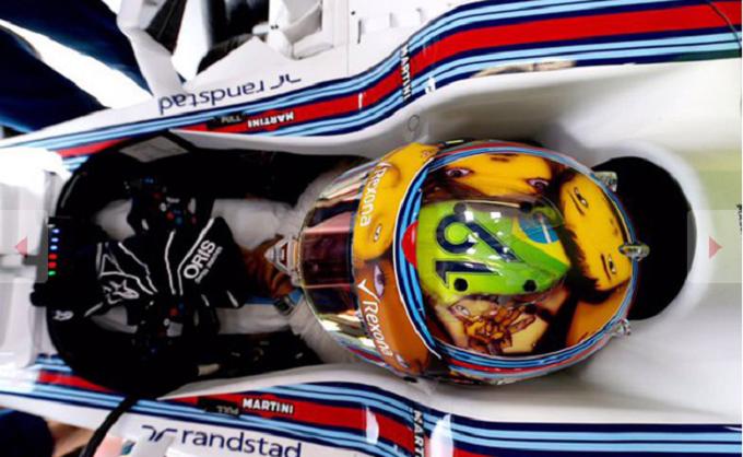 I piloti potranno cambiare la livrea del casco una sola volta