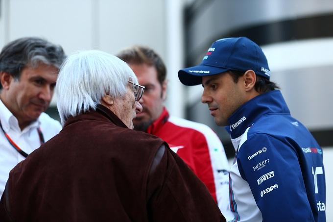 """Massa: """"GP del Brasile a rischio? Con Ecclestone tutto è possibile"""""""