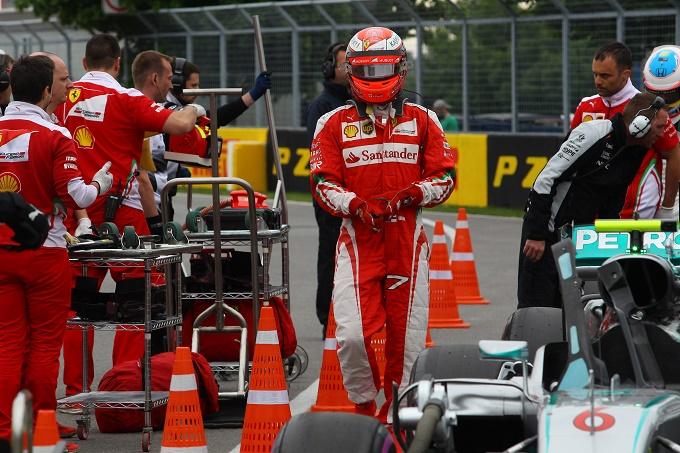 """Ferrari, Raikkonen: """"Al momento non sono soddisfatto, vedremo domani"""""""