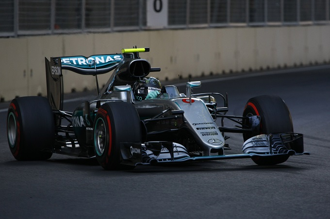 """Rosberg sorpreso dal dominio mostrato a Baku: """"Non me l'aspettavo"""""""