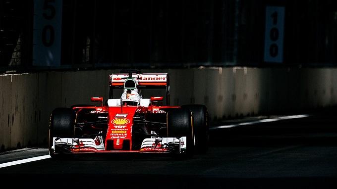 GP d'Europa, FP1: Vettel 5°, Raikkonen 12°