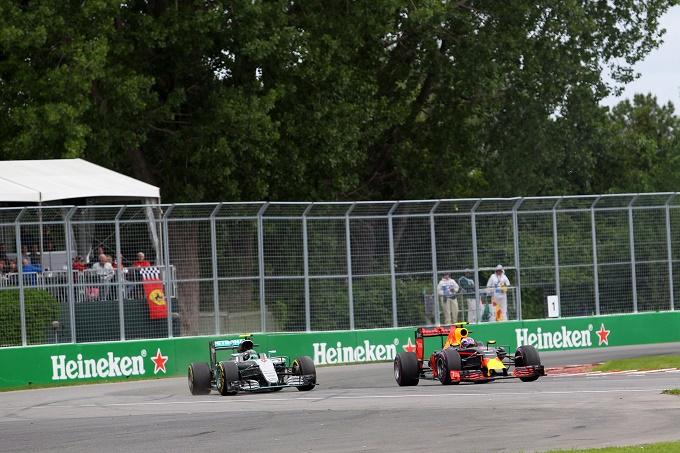 "Verstappen: ""Dura tenere dietro Rosberg"""