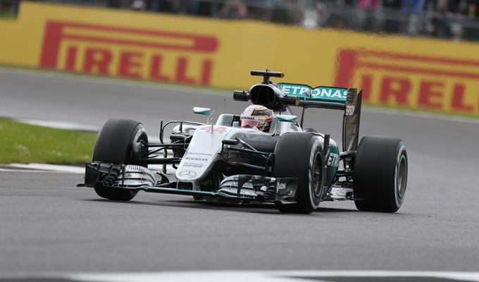 GP Gran Bretagna, Prove Libere 2:  Hamilton detta ancora il passo, assente Rosberg