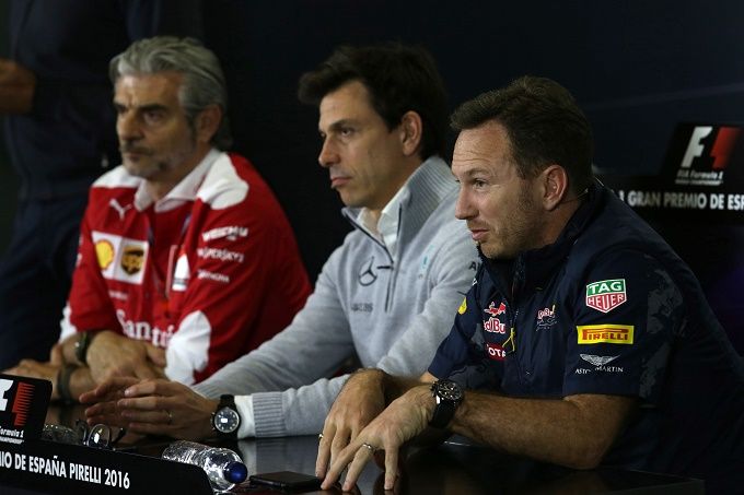 Arrivabene, Wolff e Horner contro Whiting sui track limits