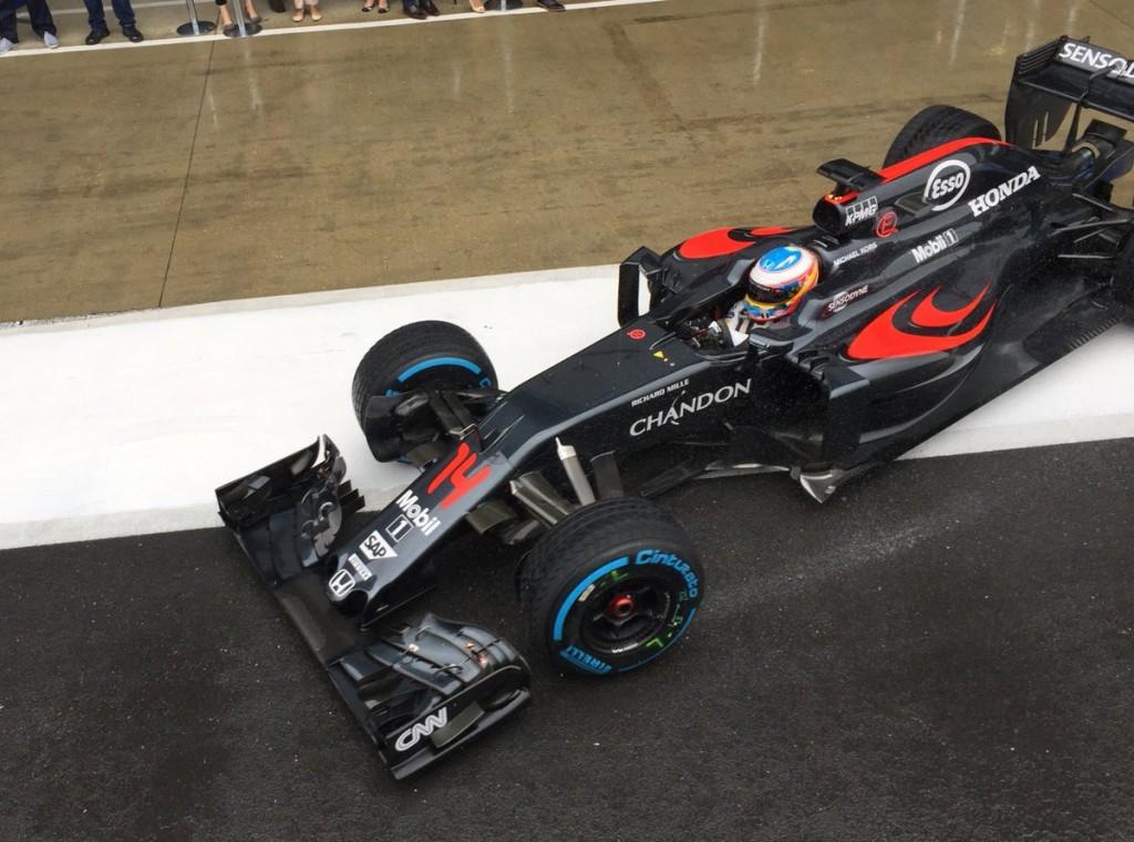 Test F1 Silverstone, Giorno 1: McLaren davanti a Mercedes