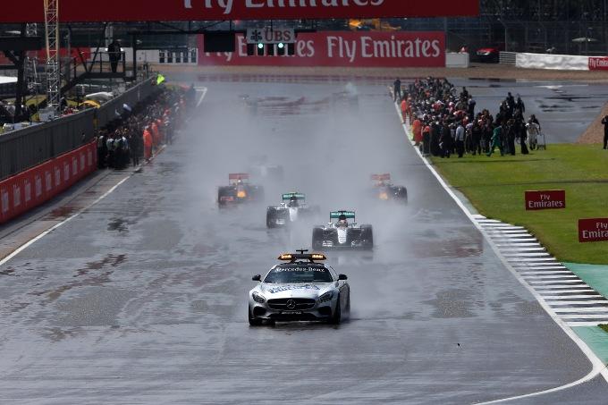F1, partenze da fermo sul bagnato nel 2017