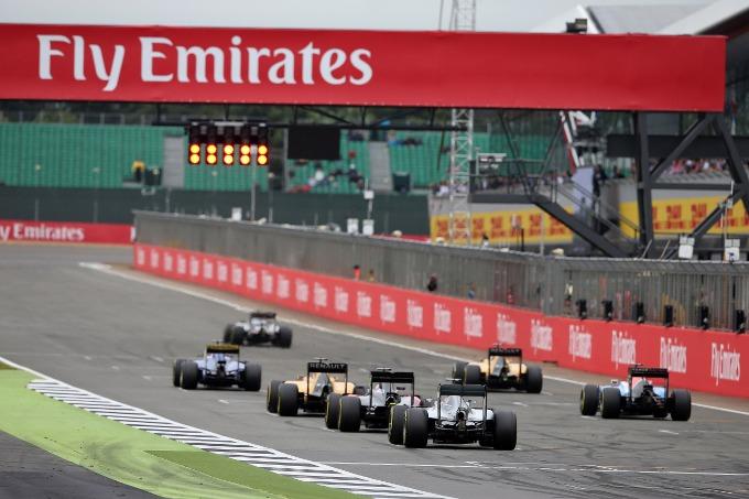 F1 GP Gran Bretagna: la griglia di partenza