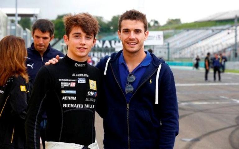 "Leclerc: ""Bianchi mi ha aiutato molto"""
