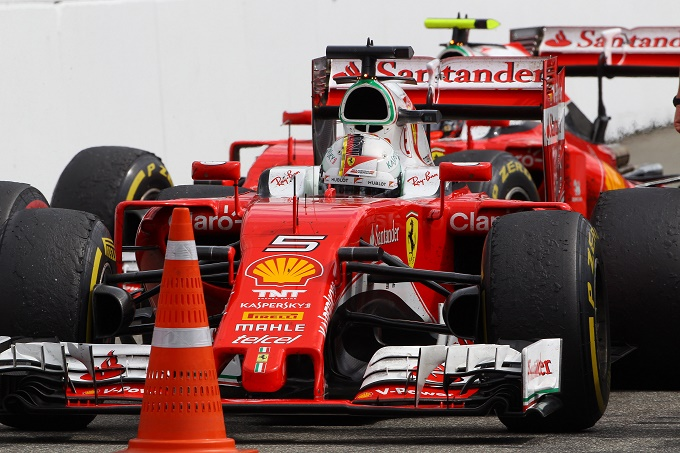 """Vettel: """"Non siamo veloci abbastanza ma torneremo più forti"""""""