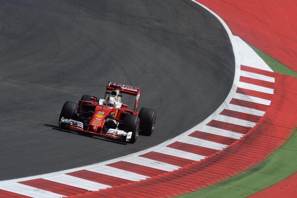 F1 GP Austria, Prove Libere 3: Ferrari davanti con Vettel. Raikkonen lo segue