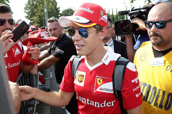 """Vettel: """"A Monza pubblico fantastico, sono fiducioso in vista del weekend"""""""