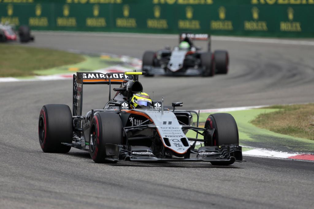 GP Italia, la Force India va a punti con entrambi i piloti
