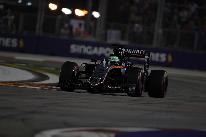 Gp Singapore: Un buon venerdì per la Force India