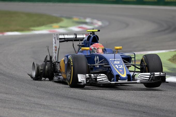 Gp d'Italia, Sauber ancora senza punti