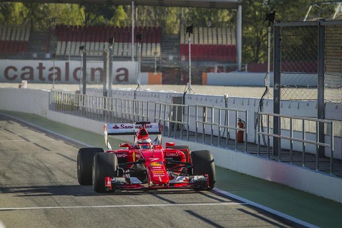 Ferrari riprende il lavoro sulle gomme 2017 con Raikkonen