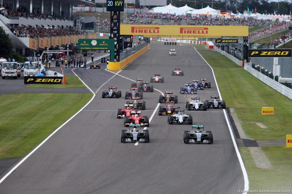 Gran Premio del Giappone 2016: Anteprima e Orari del Weekend