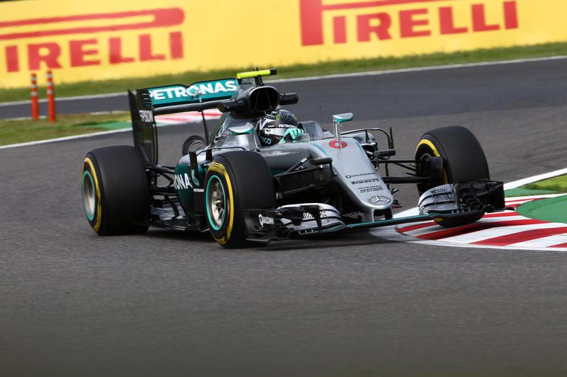 F1 GP Giappone, Prove Libere 2: Rosberg ancora davanti a Hamilton