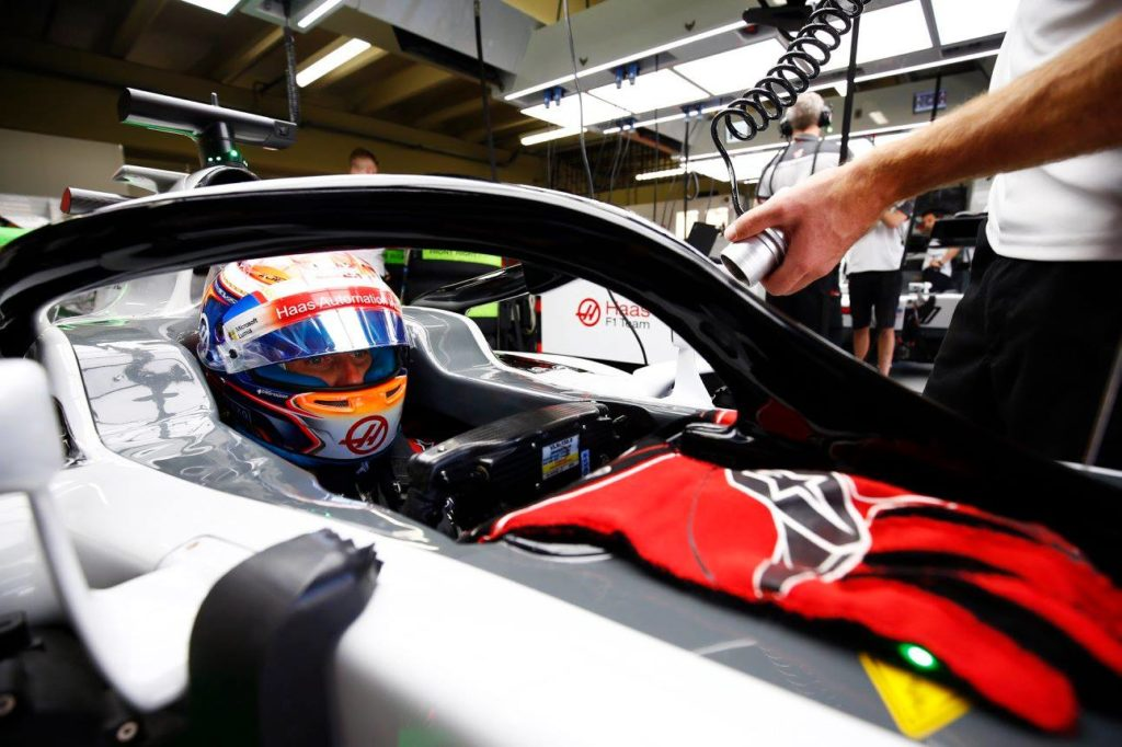 """Haas, Grosjean: """"Abbastanza soddisfatti dei nuovi freni"""""""
