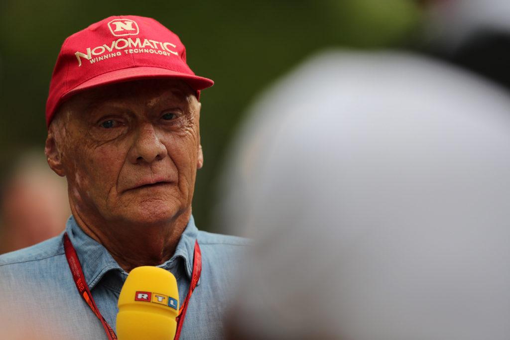 """Niki Lauda scherzoso: """"Avevo scommesso sulla pole di Hamilton, Wolff invece su Rosberg"""""""