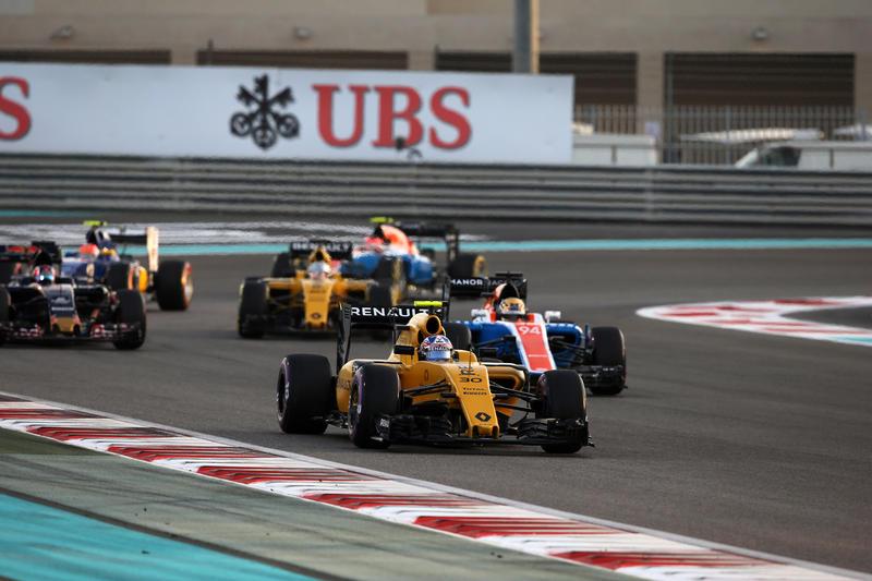 Un finale di campionato mesto per la Renault ad Abu Dhabi