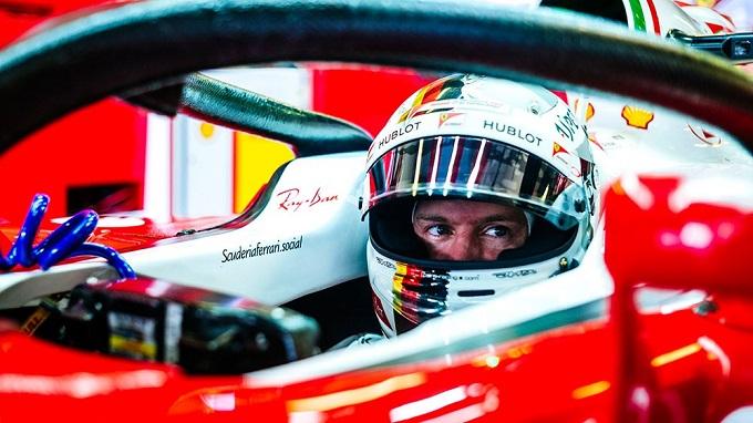 """Ferrari, Vettel: """"Un gran bel venerdì"""""""