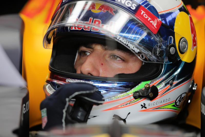 """Daniel Ricciardo: """"Problemi di visibilità per tutta la gara"""""""