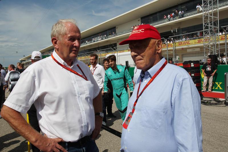 F1 | Lauda e Marko si punzecchiano in tv sul nuovo pilota Mercedes