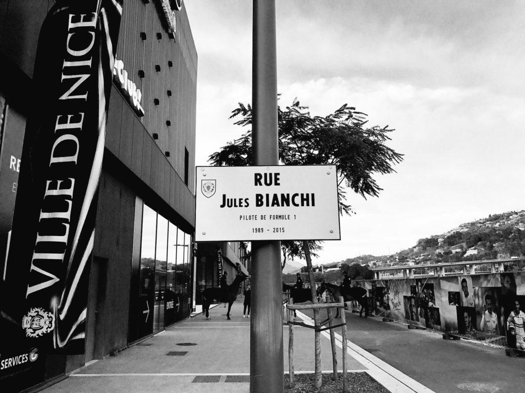 F1 | Inaugurata a Nizza la strada dedicata a Jules Bianchi