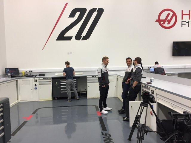 F1 | Prime sessioni di lavoro per Kevin Magnussen nella factory della Haas
