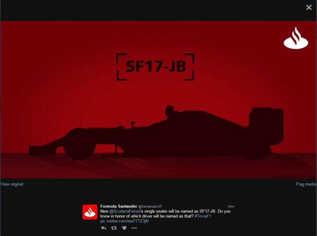 F1 | Svista Santander: rivelato il nome della nuova Ferrari?