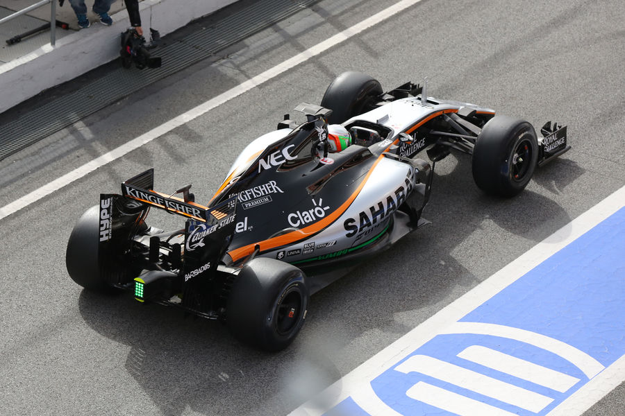 F1 | Force India supera le verifiche di crash test sul telaio della VJM10