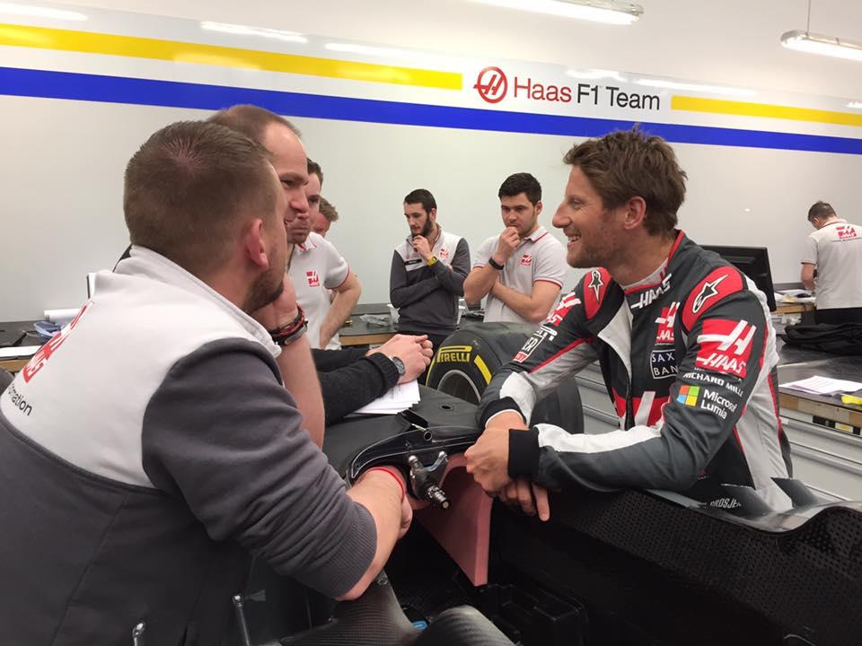 F1 | Grosjean e Magnussen provano il sedile della nuova Haas nella sede Dallara