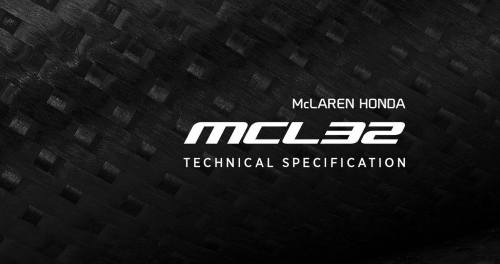 F1 | La scheda tecnica della McLaren – Honda MCL32