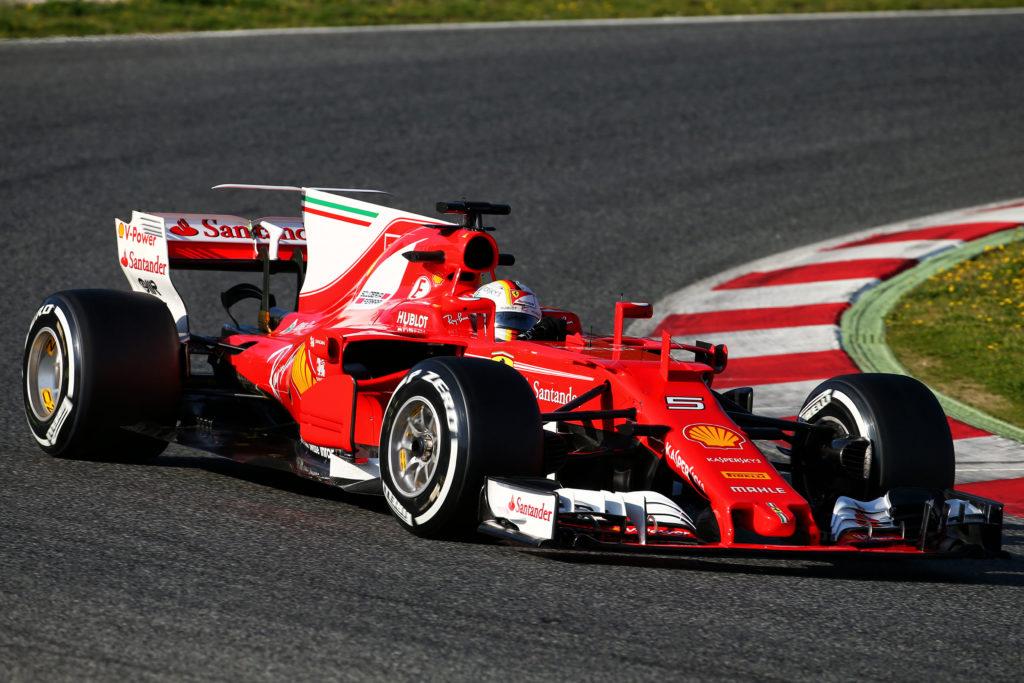 F1 | Test Barcellona: il rombo della Ferrari SF70H