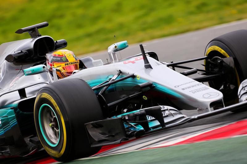 Test F1 Barcellona 2017, Giorno 2: Hamilton prosegue in testa al mattino