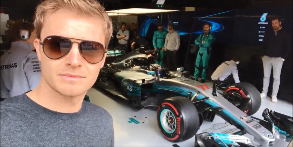 "F1   Rosberg a Barcellona: ""Nostalgia? Assolutamente no!"""