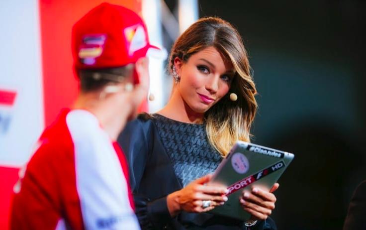 """F1   Federica Masolin: """"Raikkonen e Vettel sono positivi, spero che quest'anno ci sia battaglia"""""""