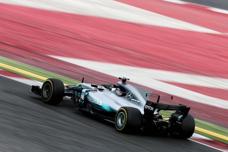 Test F1 Barcellona 2017, Giorno 6: Al mattino c'è la Mercedes davanti