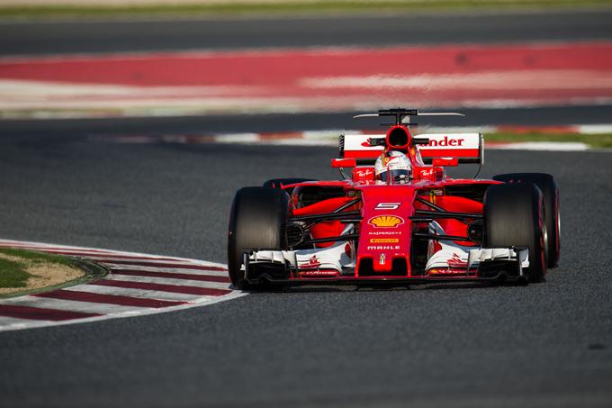 """F1   Vettel: """"Ferrari migliorata grazie alla riorganizzazione del team"""""""