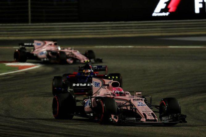 F1  Ocon e Perez a punti, Force India quarta in campionato