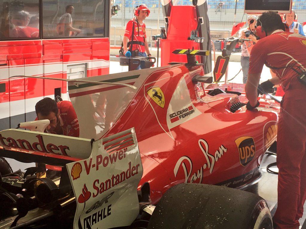 F1 | Flash Bahrain: surriscaldamento del turbo per Kimi Raikkonen