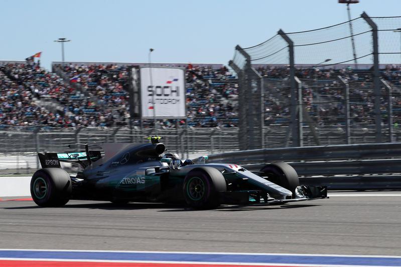 F1 GP Russia: Bottas vince il suo primo GP, sul podio anche le Ferrari
