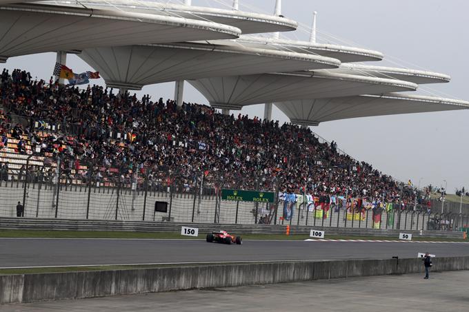 F1 GP Cina: la griglia di partenza