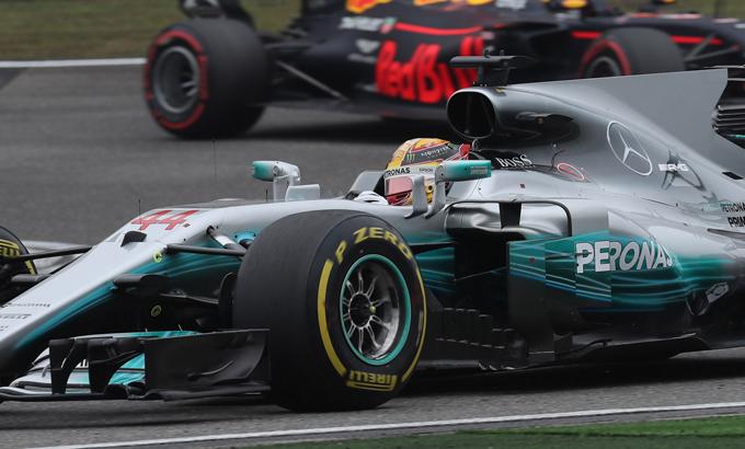 F1 GP Cina: l'ordine di arrivo